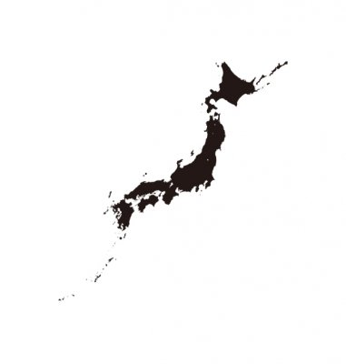 日本列島(JAPAN)Tシャツ
