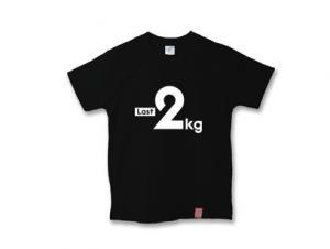 ダイエット あと2kg Tシャツ