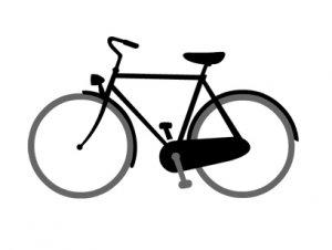 実用自転車 トートバック