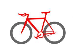 マウンテンバイク 自転車 ボタンダウンポロシャツ