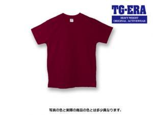 無地Tシャツ(マルーン)綿100%