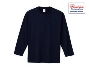 無地長袖Tシャツ(リブ無し)綿100% プリントスター101-LVC