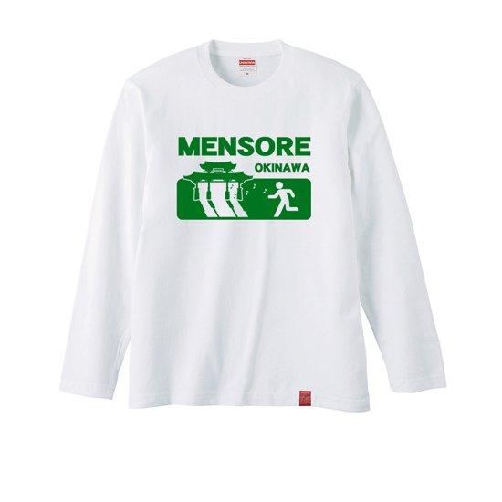 MENSORE ラグラン長袖Tシャツ