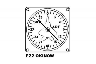 米軍 F22 ドローイング キッズ用Tシャツ