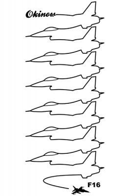 米軍 F16 ドローイング トートバック