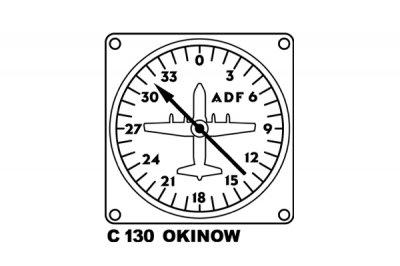 米軍 C130 ドローイング キッズ用Tシャツ
