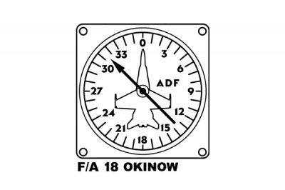 米軍 FA18 ドローイング キッズ用Tシャツ