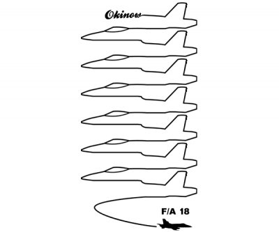 米軍 FA18 ドローイング トートバック