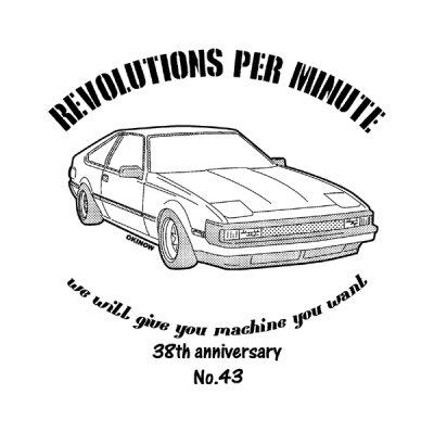 A60 セリカ No43 Tシャツ
