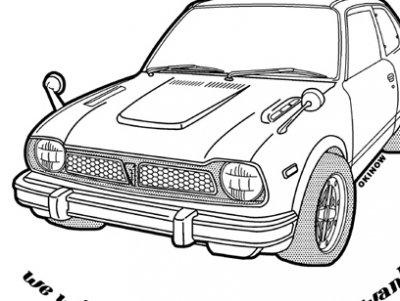 シビック NO.8 ジップアップパーカー