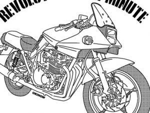 カタナ(バイク)NO60 ボタンダウンポロシャツ