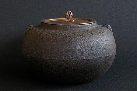 天明茶釜(炉用) - 天明鋳物の...