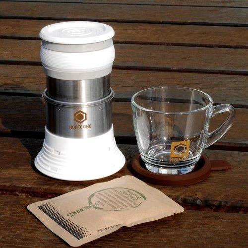 HOFFE コーヒーメーカー(ホワイト)