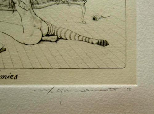 山本六三銅版画『女友達II ... : 館 書き順 : すべての講義