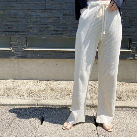 <img class='new_mark_img1' src='https://img.shop-pro.jp/img/new/icons47.gif' style='border:none;display:inline;margin:0px;padding:0px;width:auto;' />2020「H」Original RIB Knit Pants