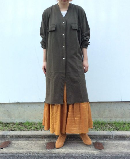 <img class='new_mark_img1' src='https://img.shop-pro.jp/img/new/icons11.gif' style='border:none;display:inline;margin:0px;padding:0px;width:auto;' />「GibouLee」V MILITARY COAT