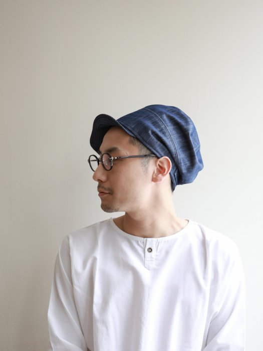 omabow soldier cap / denim