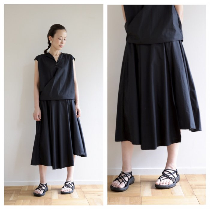 Omake / pechu skirt / black