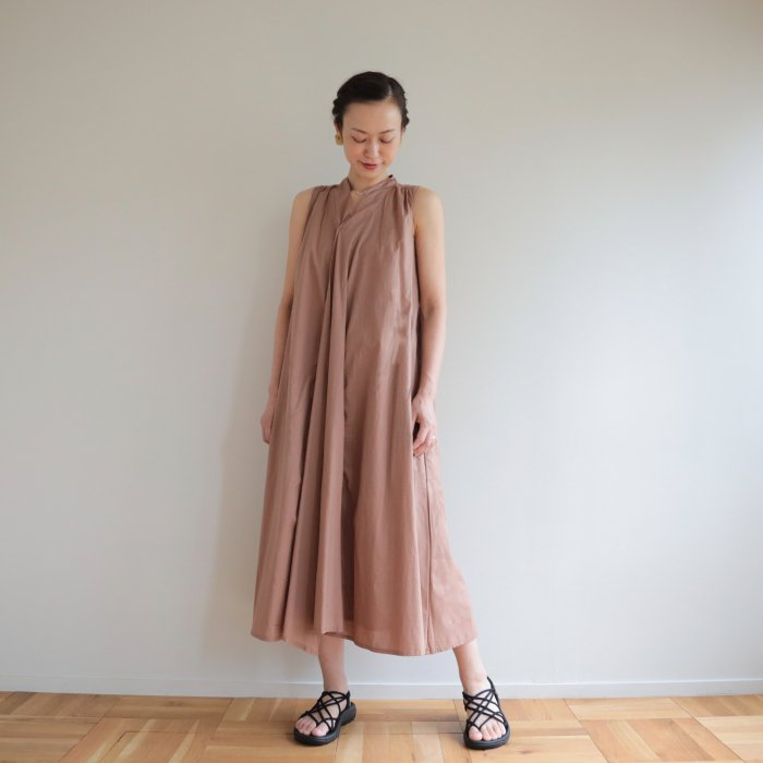 omake / Chiangmai dress / milk cocoa
