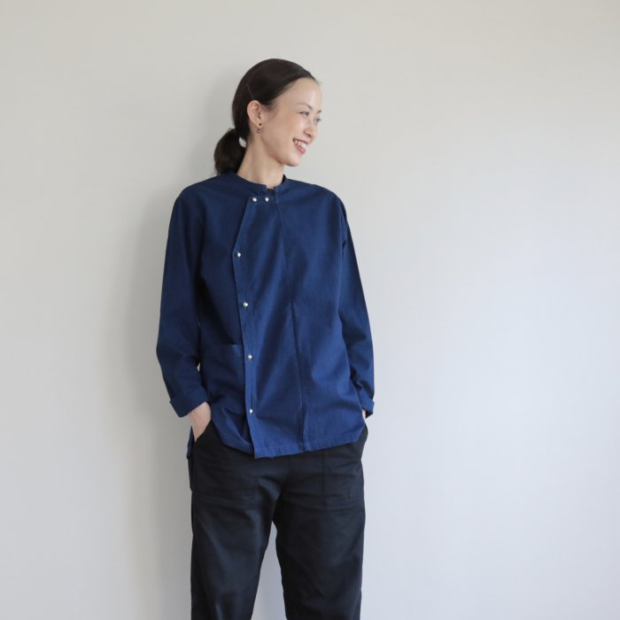 omake / ethnic minority indigo jacket