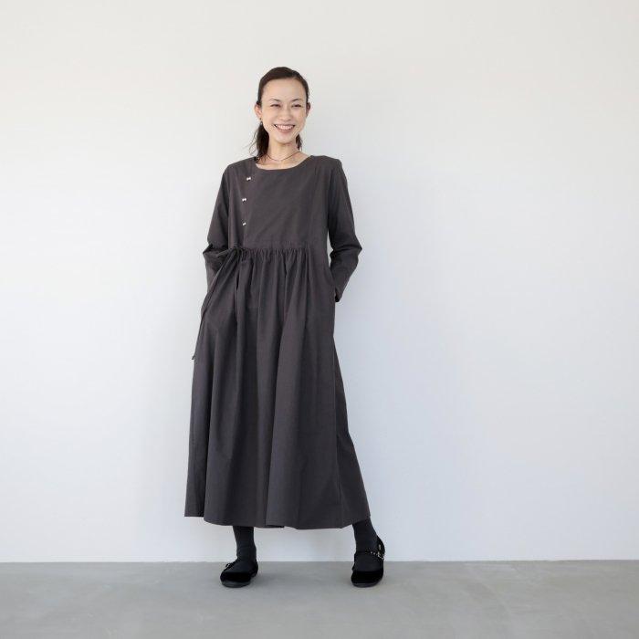 omake / cherry dress / gray