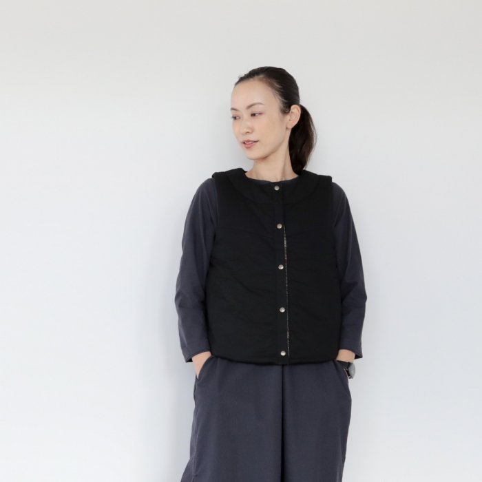 Hukatto vest / black /C