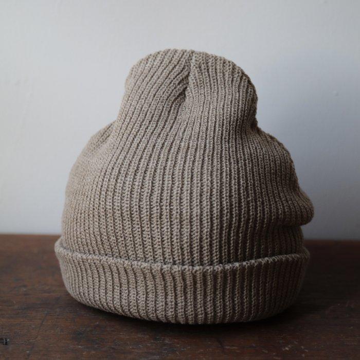 knit cap / beige