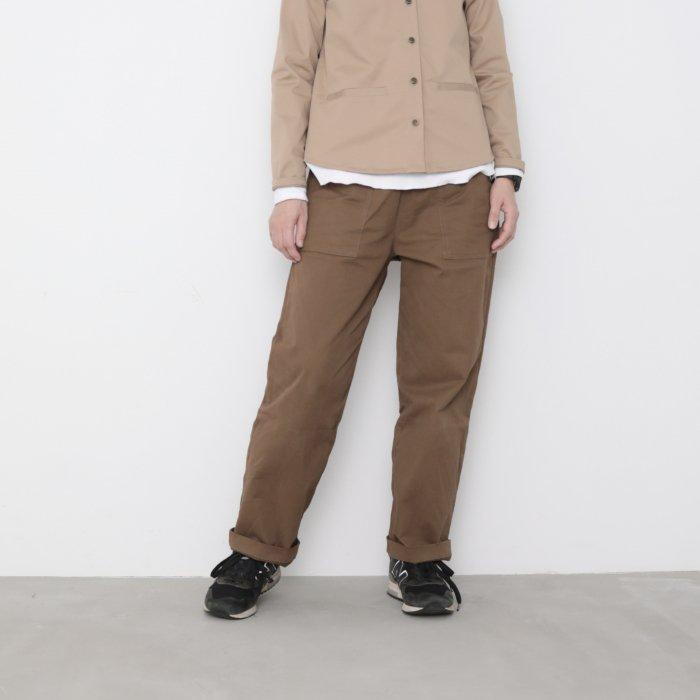Baker pants / russet brown