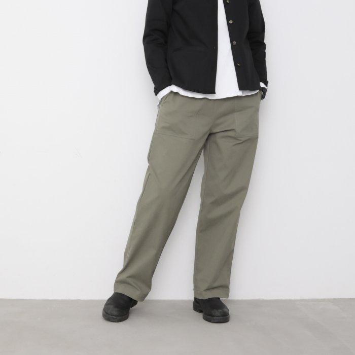 Baker pants / leaf green