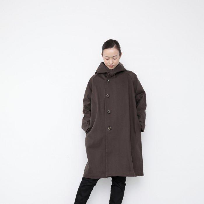 Hoodie coat 2021 / brown