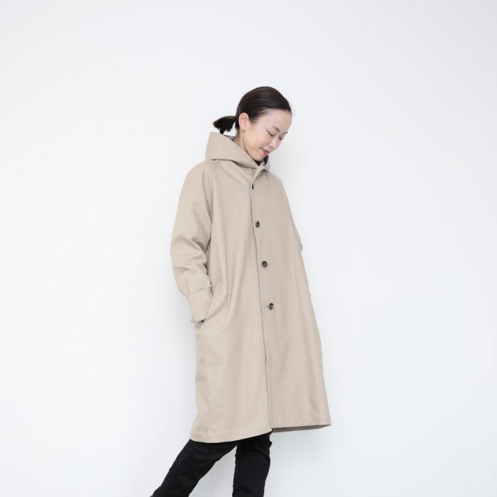 Hoodie coat 2021 / kinari