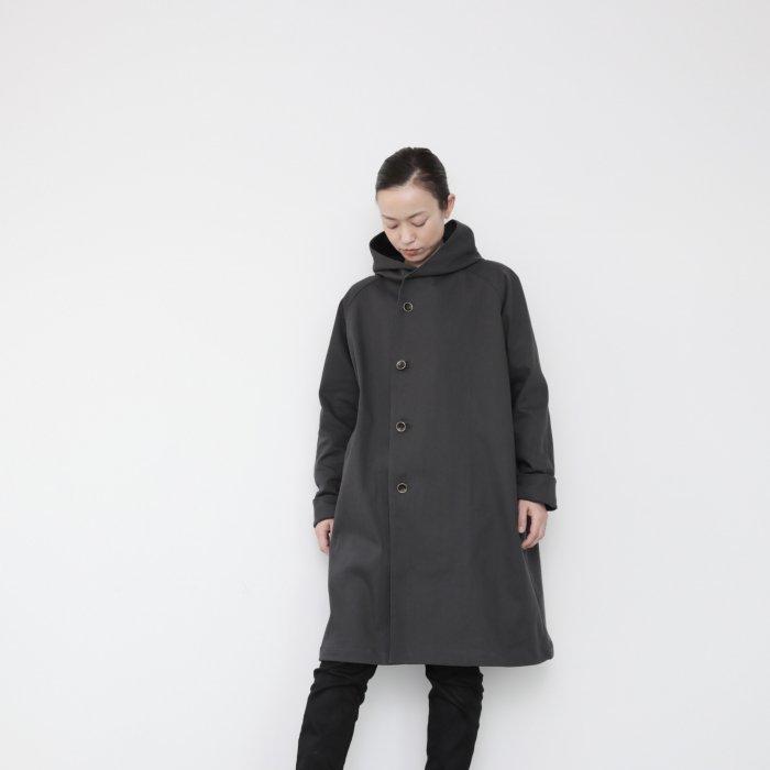 Hoodie coat 2021 / charcorl gray