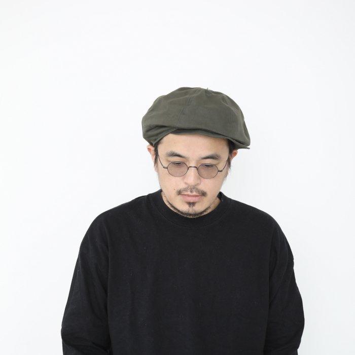 omabow mushroom cap / khaki / 58cm