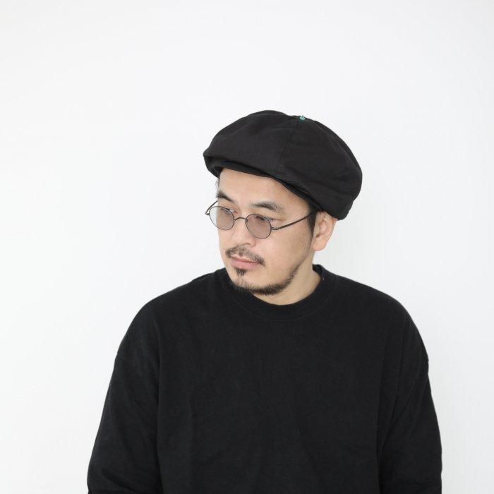 omabow mushroom cap / black