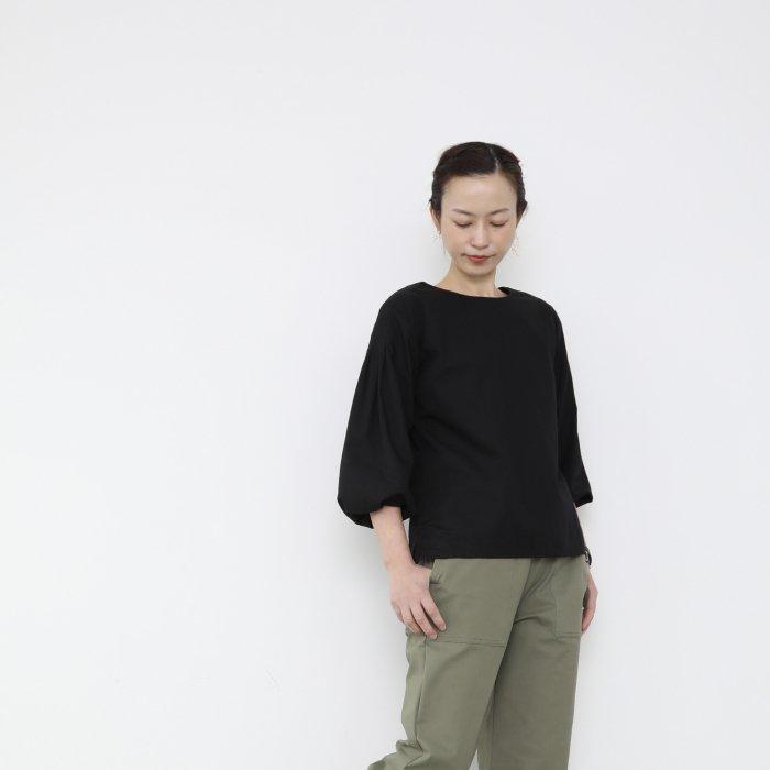 4lines blouse / black