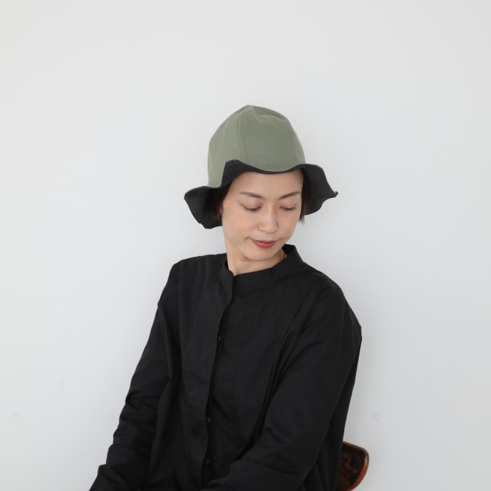 ray hat / black×khaki