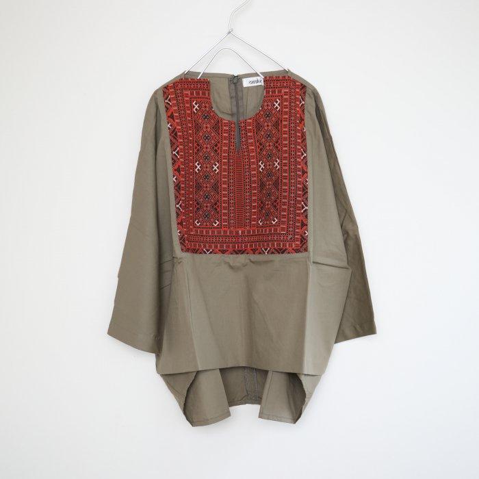 Barochi tops / khaki / 1