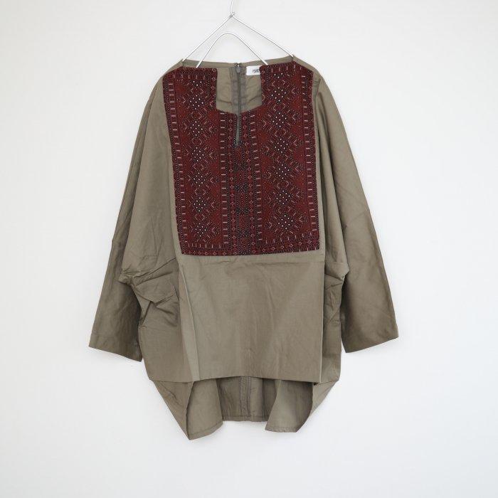 Barochi tops / khaki / 5