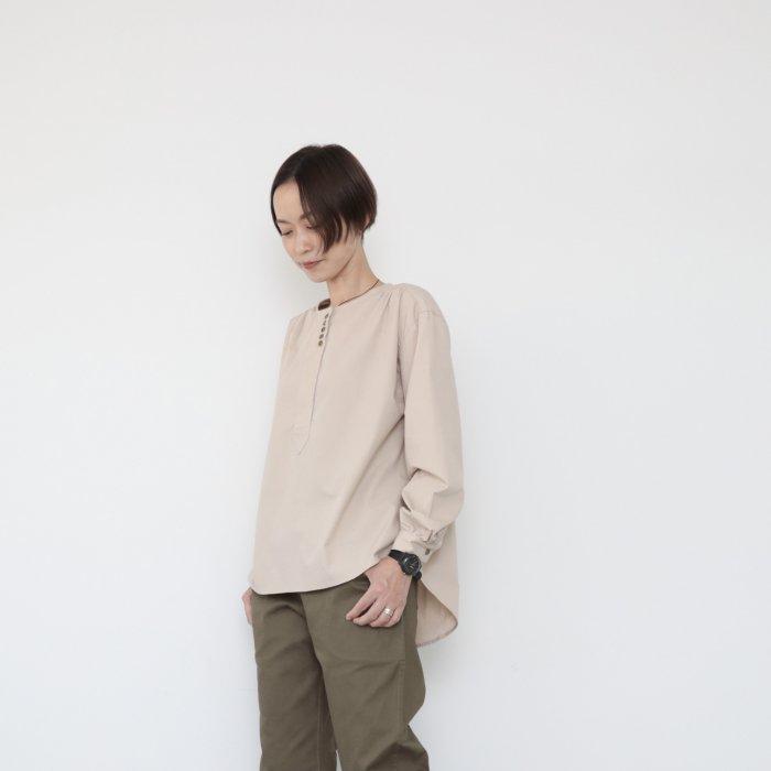 Sanada shirts / Ecru Beige