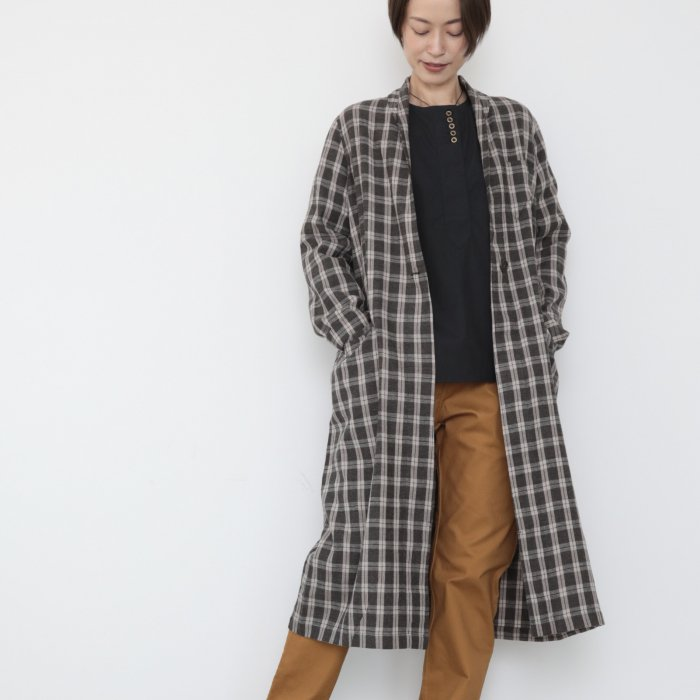 omagown / gray checked