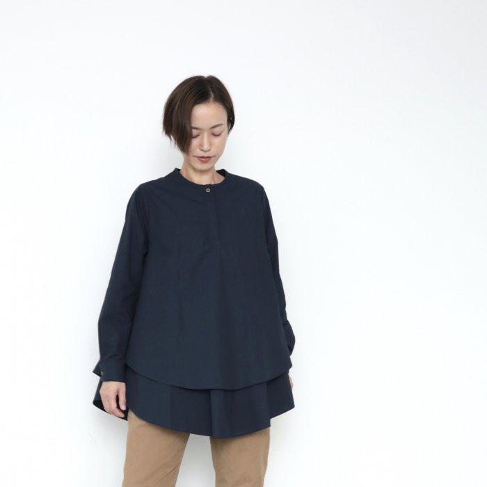 Kasane blouse / deep navy