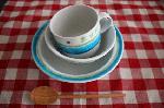 tocotocoコラボ子供用食器セット/野菜柄(木箱付)