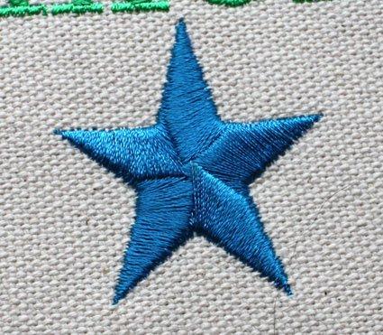 刺繍星柄 - baobab factory store