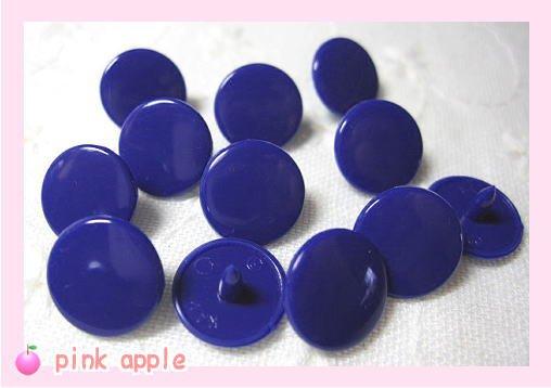 プラスチックスナップボタン【10mm紺】