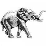 シロメ製 ゾウ 象 カフス