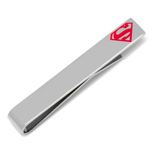 Superman スーパーマン ロゴ シルバー ネクタイピン