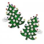 クリスタル クリスマスツリー カフス