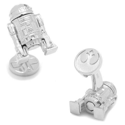 Star Wars スターウォーズ スターリングシルバー 3D R2D2 カフス