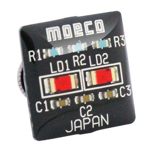 MOECO 基盤 ブラック ピンズ ラペルピン