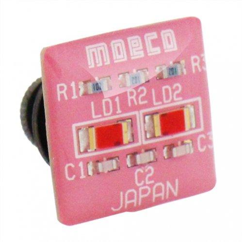 MOECO 基盤 ピンク ピンズ ラペルピン